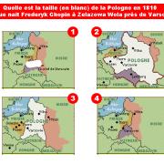 A quoi ressemblait la Pologne en 1810 ? Cliquer pour agrandir la photo.