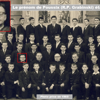 Le prénom de Poussix (Grabinski) était :   Cliquer pour agrandir la photo.