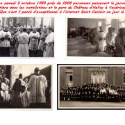 Que s'est il passé d'exceptionnel à l'internat Saint Casimir de Vaudricourt le 3 octobre 1953 ?