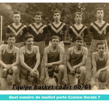 Sous quel numéro se cache Czeslaw Horala ? Cliquer pour agrandir la photo.