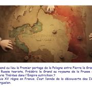 Quand eu lieu le Premier partage de la Pologne?
