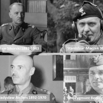 En 39-45, lequel de ces militaires n'a pas servi dans l'armée polonaise en exil en Grande Bretagne ? Il a été condamné à mort par ce gouvernement en exil.