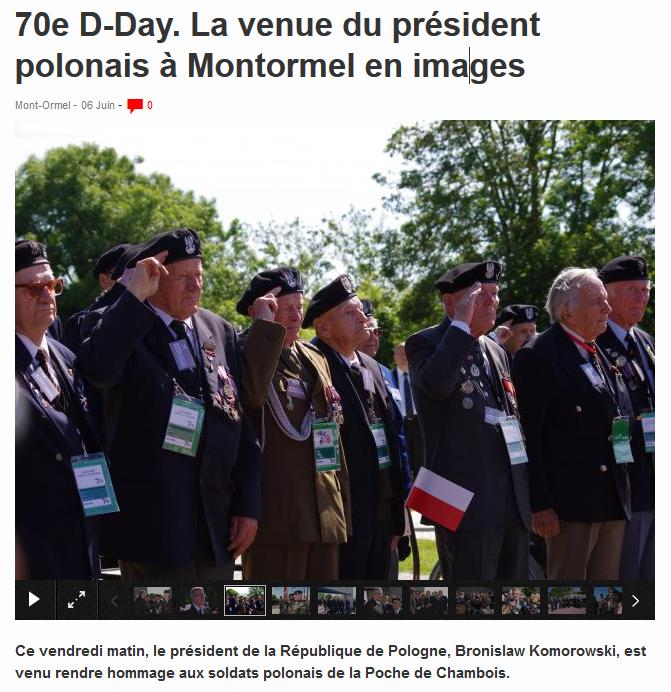 Komorowski et veterans