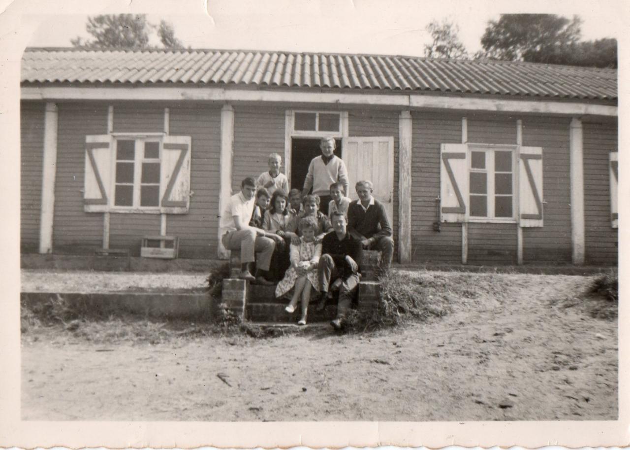 Des vacanciers début des années 60. Photo Joseph Staniaszek