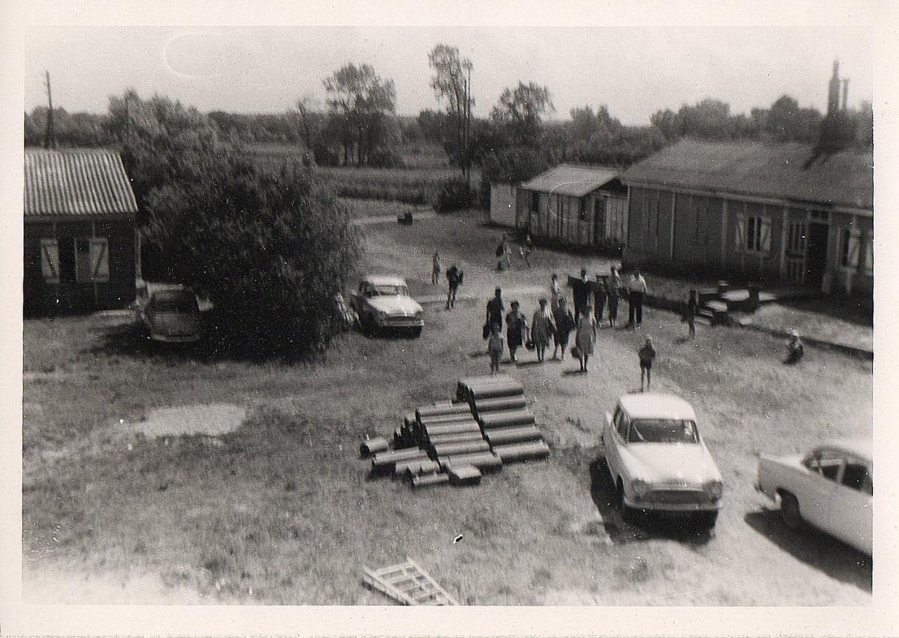 Les Installations, début des années 60. Photo Joseph Staniaszek