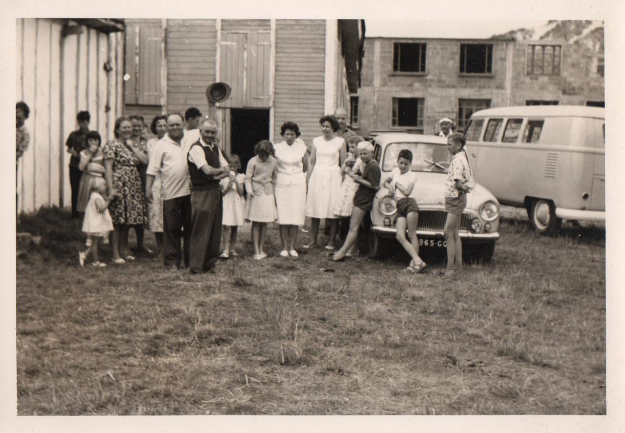 Les polonais de Potigny (Calvados). début des années 60. Photo Joseph Staniaszek