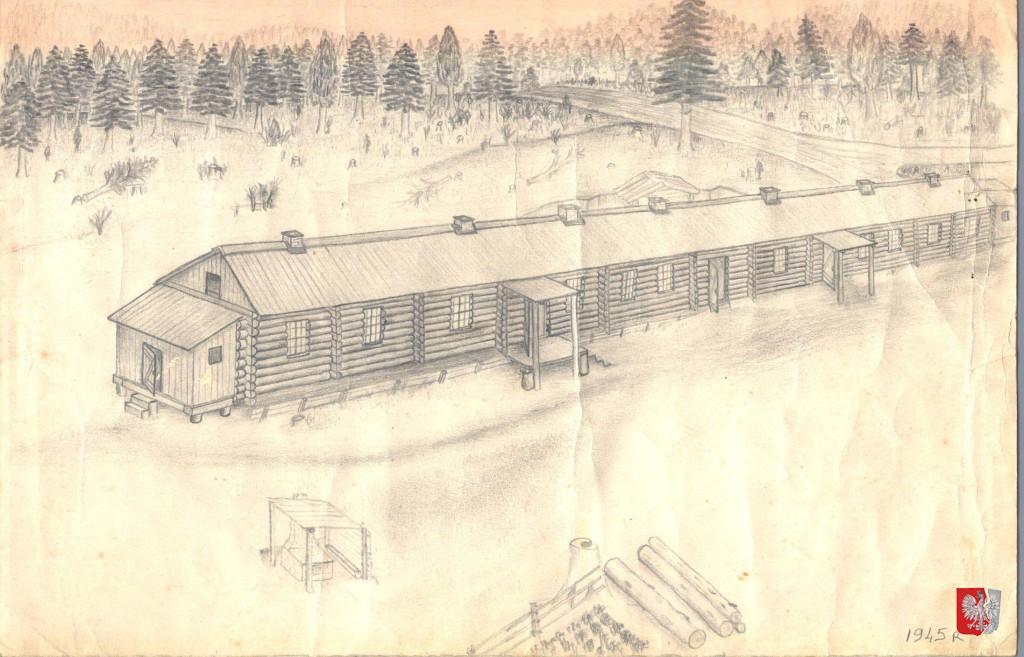 Siberia barrack drawn jan szewczuk large