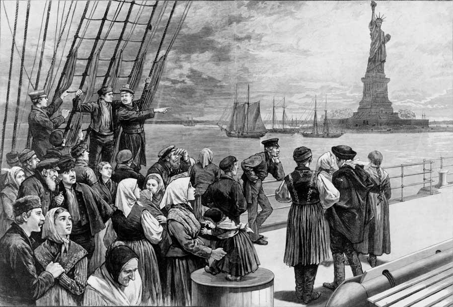 Ss patricia emigranci rysunek