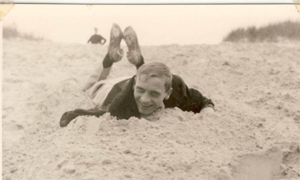 W Kluska sur la dune. Année 65, Photo R. Zalisz